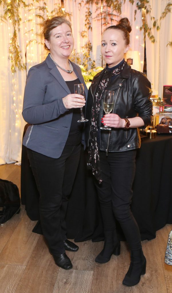 Pictured at the Amazing Aldi Christmas Showcase 2018 is Marv Martin and Donna Ahern  Photo: Leon Farrell/Photocall Ireland.