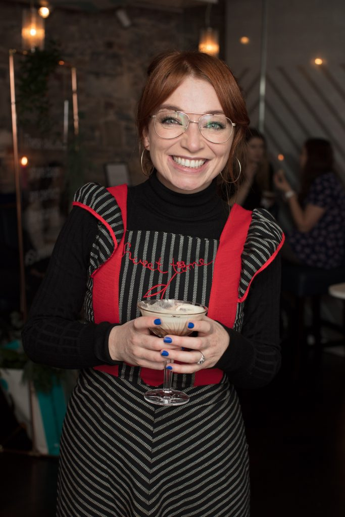 Irene O'Brien pictured at the launch of Lily O'Brien's 'Share Wisely' bags. Photo: Anthony Woods