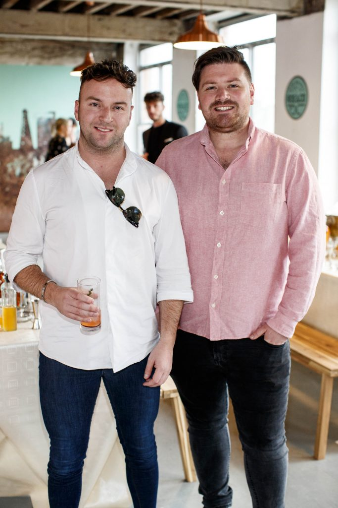 Wayne Lawlor and Thomas Cross pictured at The Roe and Collective launch, Dollard Printing House.   Picture Andres Poveda