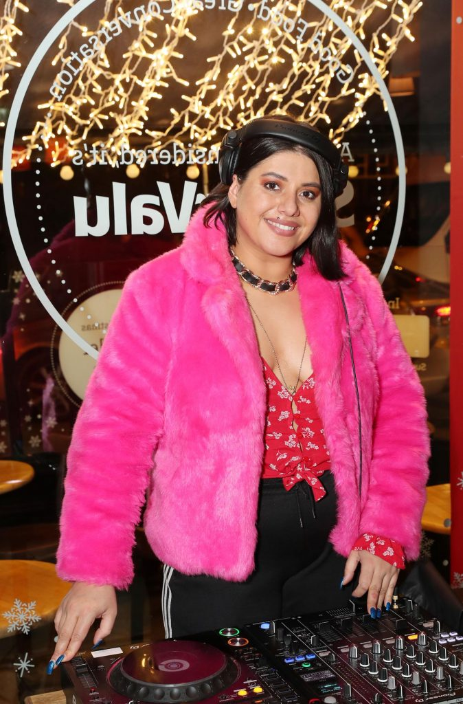 Tara Stewart pictured at the launch of the SuperValu All Things Considered Christmas Café in aid of ALONE.    Pic: Marc O'Sullivan
