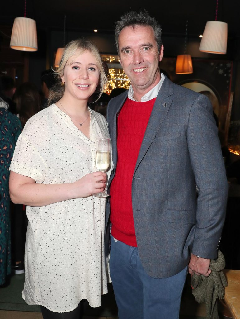 Dee laffan and Kevin Dundon pictured at the launch of the SuperValu All Things Considered Christmas Café in aid of ALONE.    Pic: Marc O'Sullivan