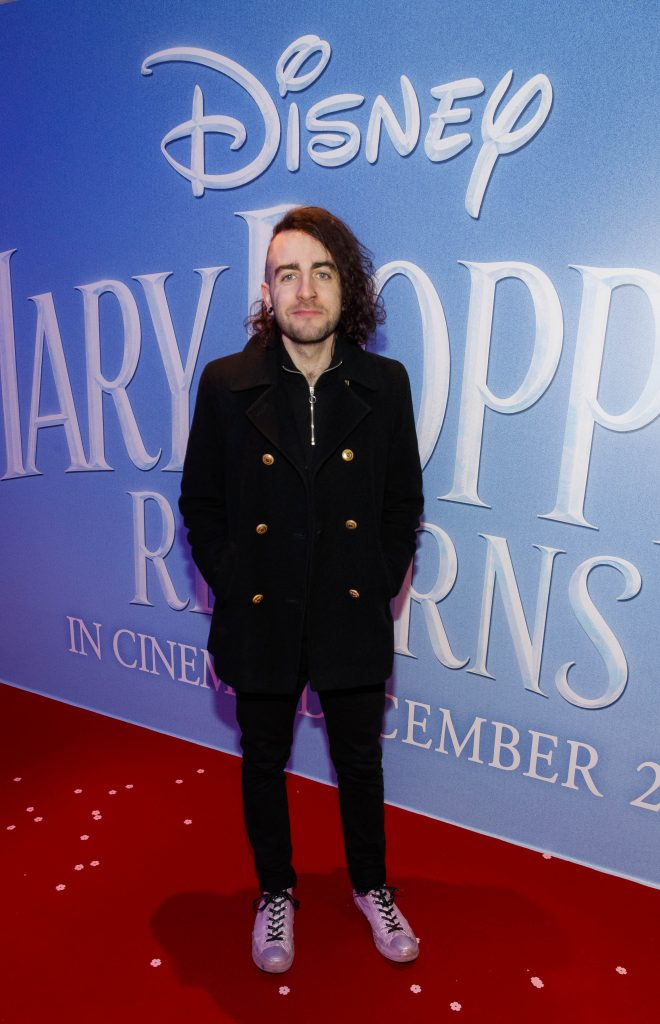 "Davey Reilly pictured at a special preview screening of Disney's ""Mary Poppins Returns,"" in the Light House cinema Dublin. Picture Andres Poveda"