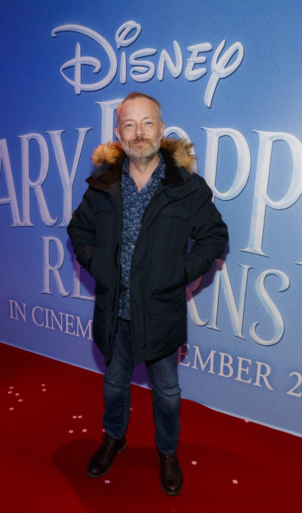 "Rick O'Shea pictured at a special preview screening of Disney's ""Mary Poppins Returns,"" in the Light House cinema Dublin. Picture Andres Poveda"