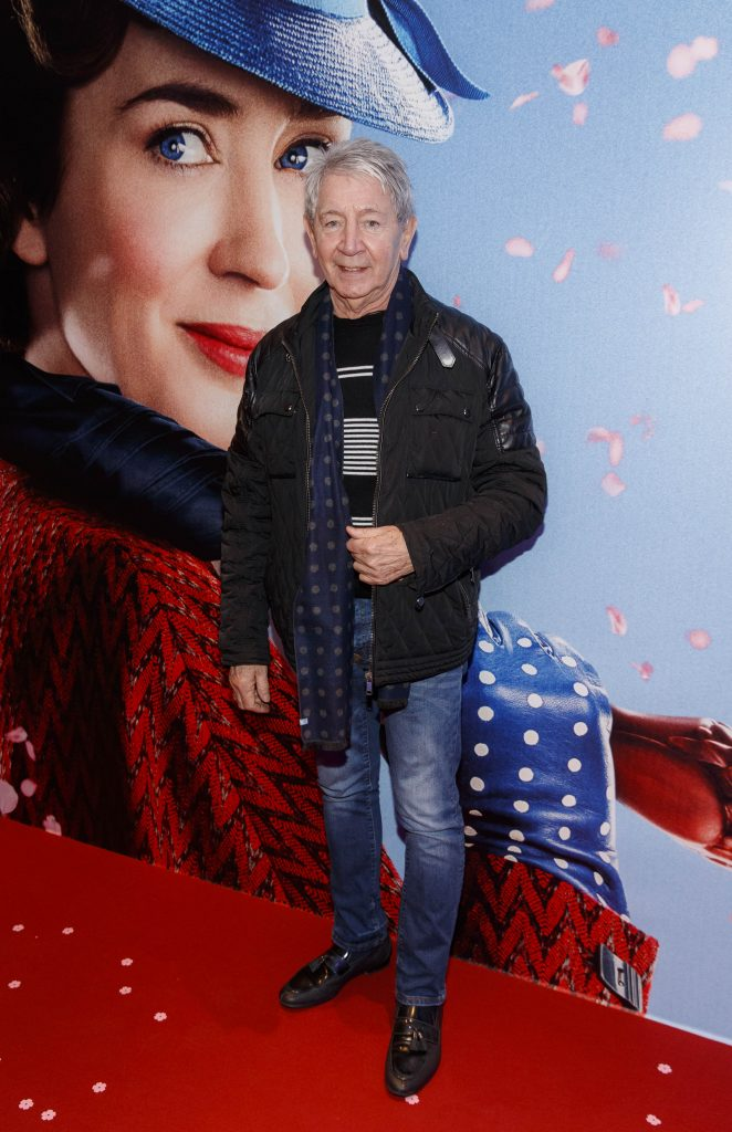 "Gary Kavanagh pictured at a special preview screening of Disney's ""Mary Poppins Returns,"" in the Light House cinema Dublin. Picture Andres Poveda"