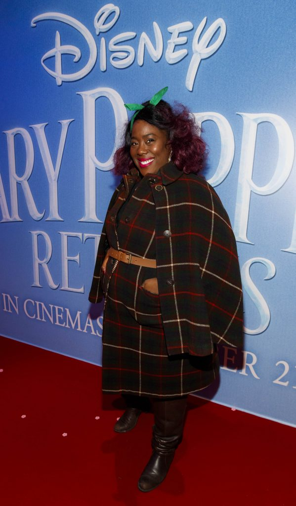 "Nadine Reid pictured at a special preview screening of Disney's ""Mary Poppins Returns,"" in the Light House cinema Dublin. Picture Andres Poveda"