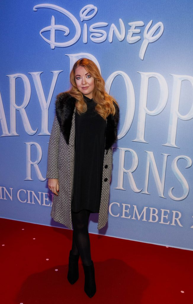 "Ciamh McCrory pictured at a special preview screening of Disney's ""Mary Poppins Returns,"" in the Light House cinema Dublin. Picture Andres Poveda"