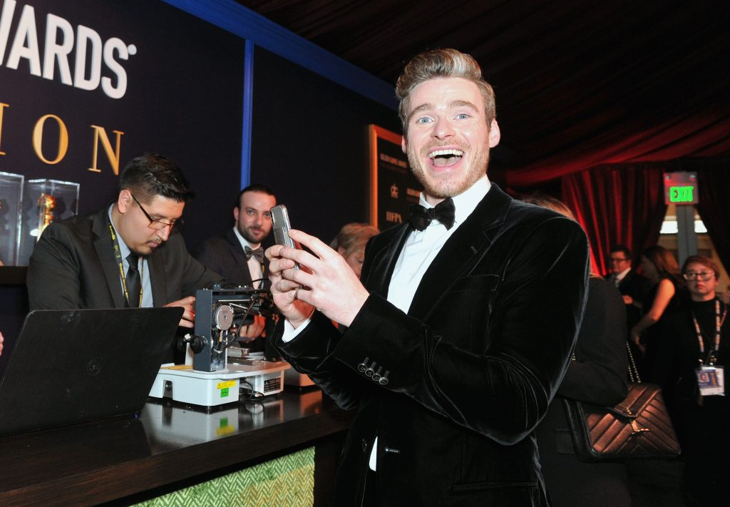 Richard Madden attends the official viewing and after party of The Golden Globe Awards hosted by The Hollywood Foreign Press Association at The Beverly Hilton Hotel on January 6, 2019 in Beverly Hills, California.  (Photo by Rachel Luna/Getty Images)