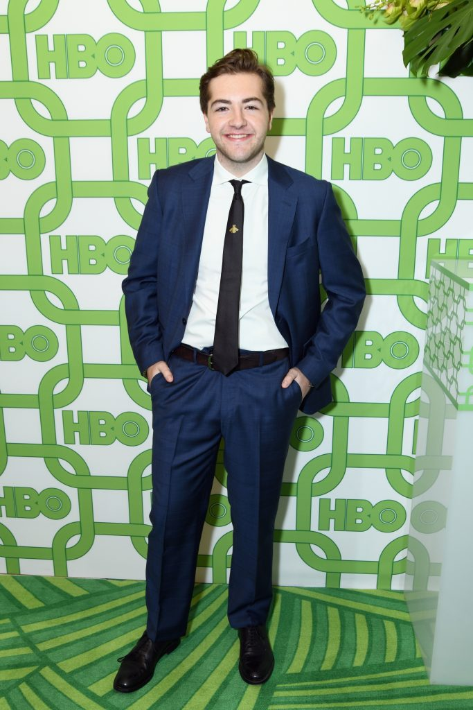 Michael Gandolfini attends HBO's Official Golden Globe Awards After Party at Circa 55 Restaurant on January 6, 2019 in Los Angeles, California.  (Photo by Presley Ann/Getty Images)