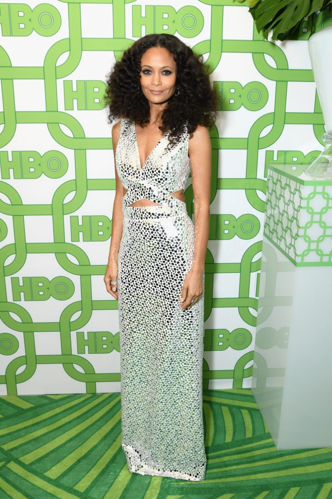 Thandie Newton attends HBO's Official Golden Globe Awards After Party at Circa 55 Restaurant on January 6, 2019 in Los Angeles, California.  (Photo by Presley Ann/Getty Images)
