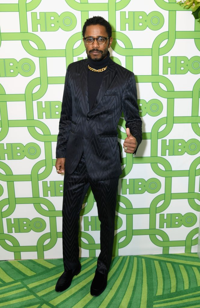 Lakeith Stanfield attends HBO's Official Golden Globe Awards After Party at Circa 55 Restaurant on January 6, 2019 in Los Angeles, California.  (Photo by Presley Ann/Getty Images)
