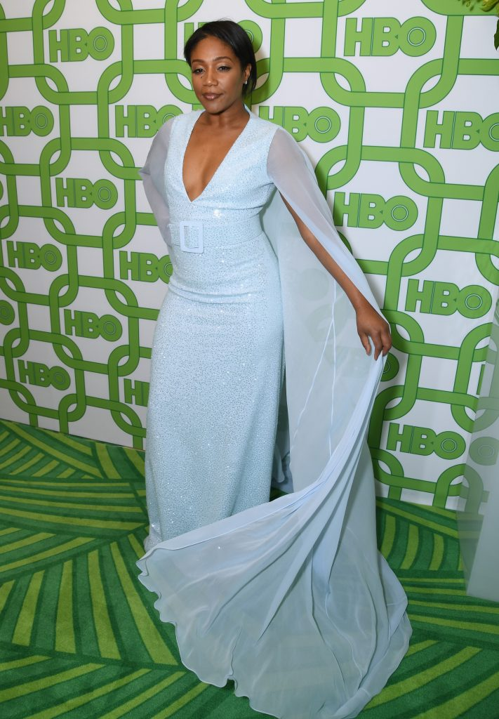 Tiffany Haddish attends HBO's Official Golden Globe Awards After Party at Circa 55 Restaurant on January 6, 2019 in Los Angeles, California.  (Photo by Presley Ann/Getty Images)