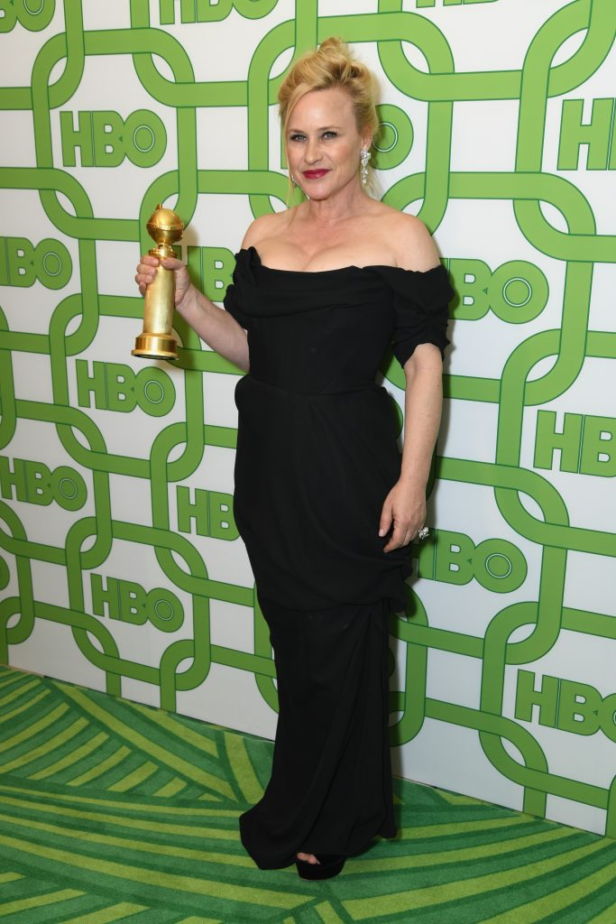 Patricia Arquette attends HBO's Official Golden Globe Awards After Party at Circa 55 Restaurant on January 6, 2019 in Los Angeles, California.  (Photo by Presley Ann/Getty Images)