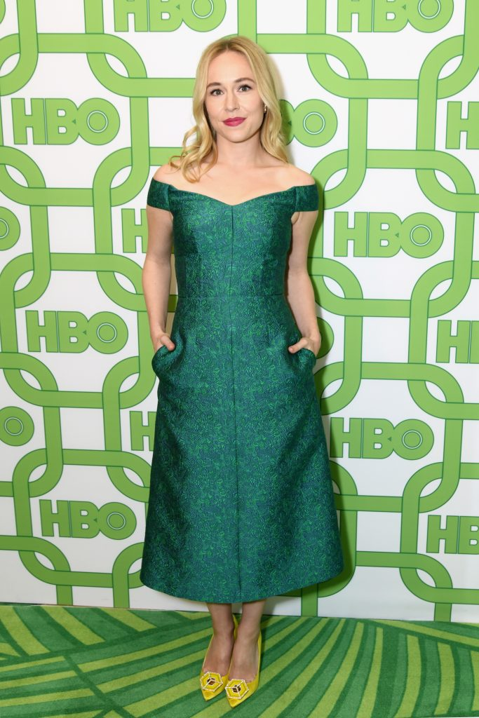 Sarah Goldberg attends HBO's Official Golden Globe Awards After Party at Circa 55 Restaurant on January 6, 2019 in Los Angeles, California.  (Photo by Presley Ann/Getty Images)