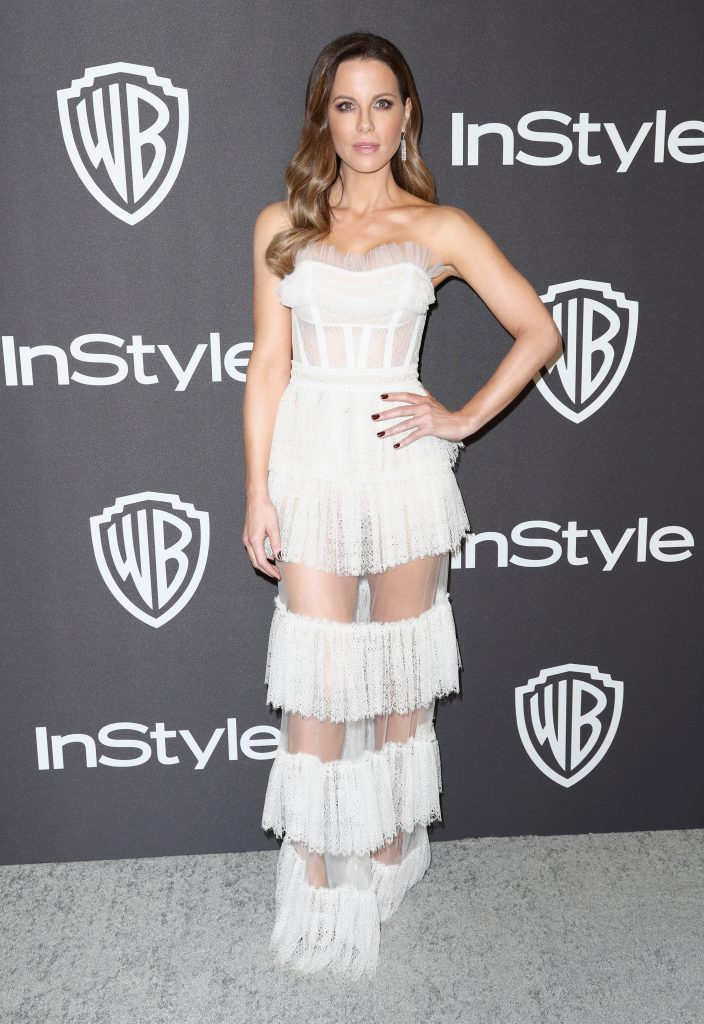 Kate Beckinsale attends the InStyle And Warner Bros. Golden Globes After Party 2019 at The Beverly Hilton Hotel on January 6, 2019 in Beverly Hills, California.  (Photo by Rich Fury/Getty Images)
