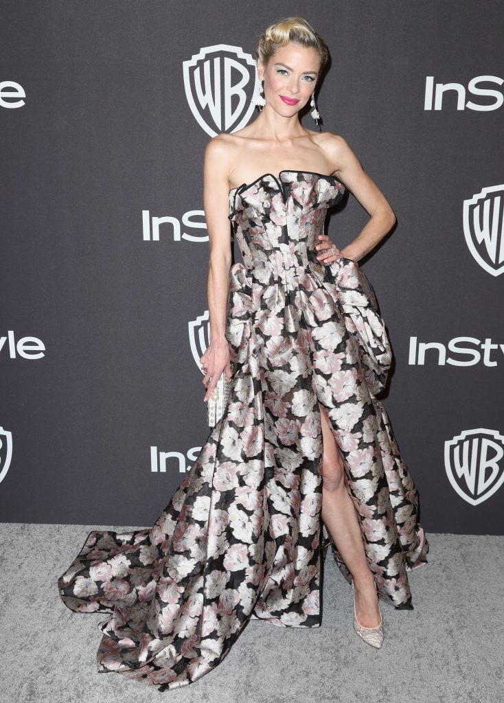 Jaime King attends the InStyle And Warner Bros. Golden Globes After Party 2019 at The Beverly Hilton Hotel on January 6, 2019 in Beverly Hills, California.  (Photo by Rich Fury/Getty Images)