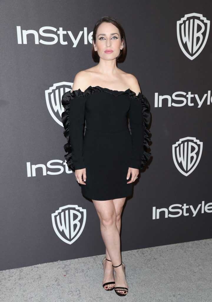 Zoe Lister-Jones attends the InStyle And Warner Bros. Golden Globes After Party 2019 at The Beverly Hilton Hotel on January 6, 2019 in Beverly Hills, California.  (Photo by Rich Fury/Getty Images)