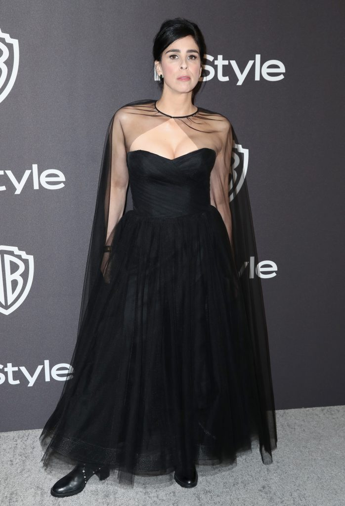 Sarah Silverman attends the InStyle And Warner Bros. Golden Globes After Party 2019 at The Beverly Hilton Hotel on January 6, 2019 in Beverly Hills, California.  (Photo by Rich Fury/Getty Images)
