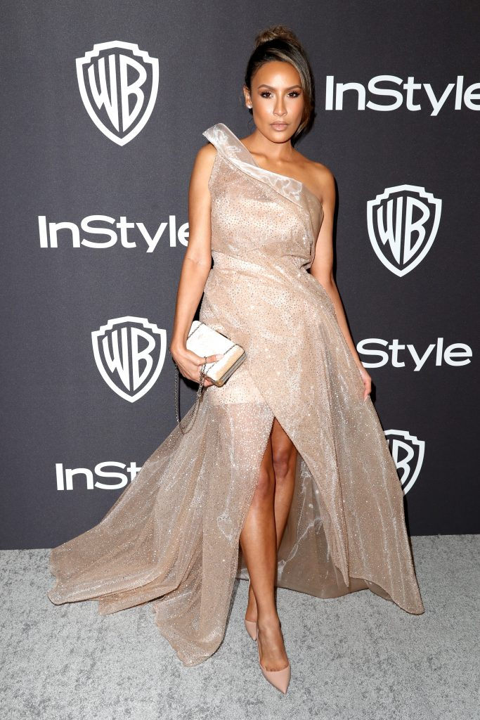 Desi Perkins attends the InStyle And Warner Bros. Golden Globes After Party 2019 at The Beverly Hilton Hotel on January 6, 2019 in Beverly Hills, California.  (Photo by Rich Fury/Getty Images)