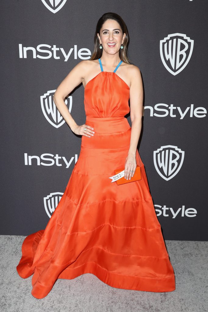 D'Arcy Carden attends the InStyle And Warner Bros. Golden Globes After Party 2019 at The Beverly Hilton Hotel on January 6, 2019 in Beverly Hills, California.  (Photo by Rich Fury/Getty Images)