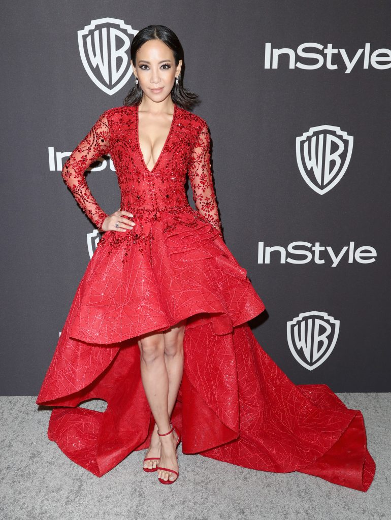 Fiona Xie attends the InStyle And Warner Bros. Golden Globes After Party 2019 at The Beverly Hilton Hotel on January 6, 2019 in Beverly Hills, California.  (Photo by Rich Fury/Getty Images)