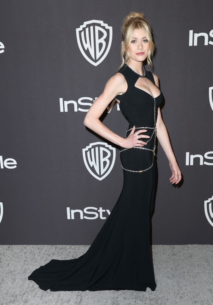 Katherine McNamara attends the InStyle And Warner Bros. Golden Globes After Party 2019 at The Beverly Hilton Hotel on January 6, 2019 in Beverly Hills, California.  (Photo by Rich Fury/Getty Images)