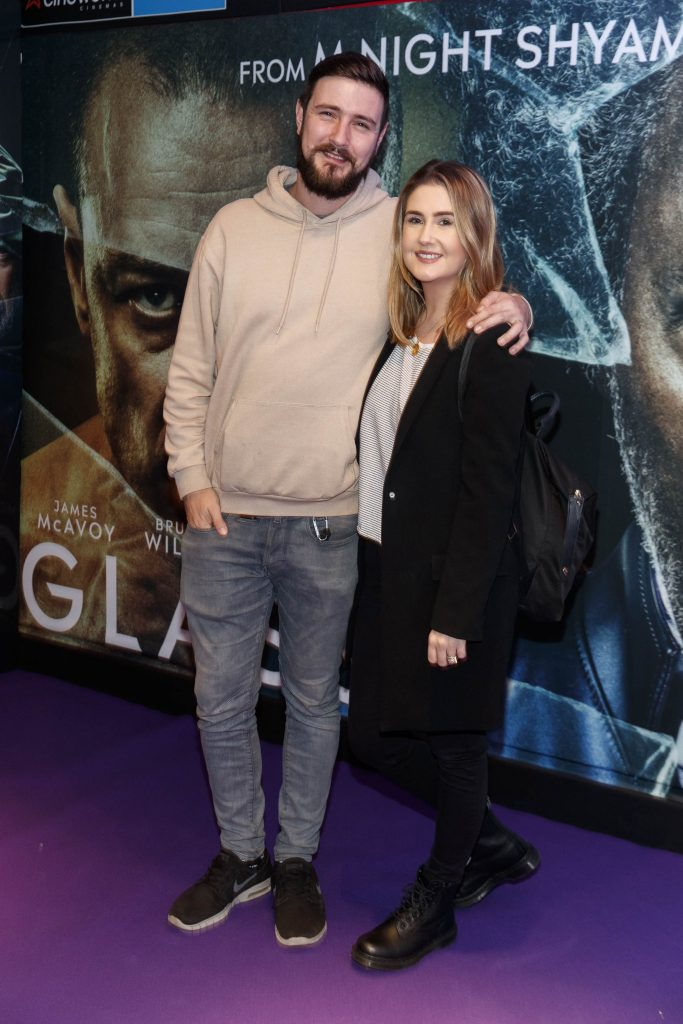 Kodaline's Jason Boland with Etaoin Corr pictured at the special preview screening of GLASS. Picture Andres Poveda