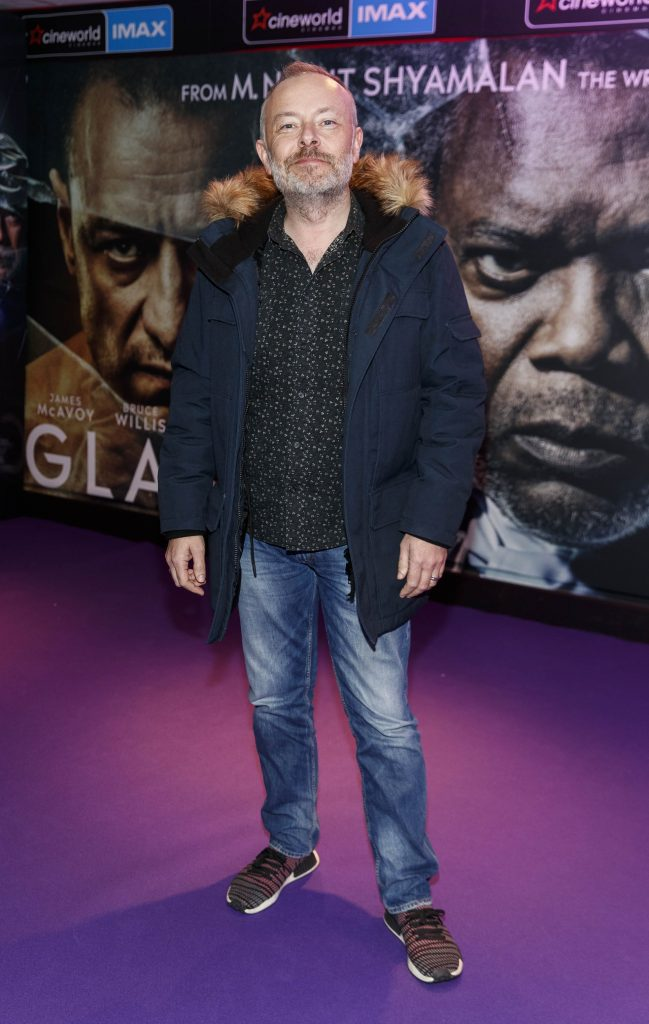 Rick O'shea pictured at the special preview screening of GLASS. Picture Andres Poveda