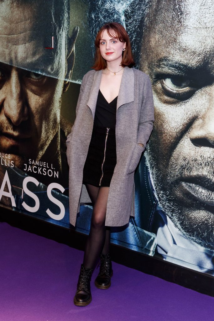 Faye O'Reilly pictured at the special preview screening of GLASS. Picture Andres Poveda