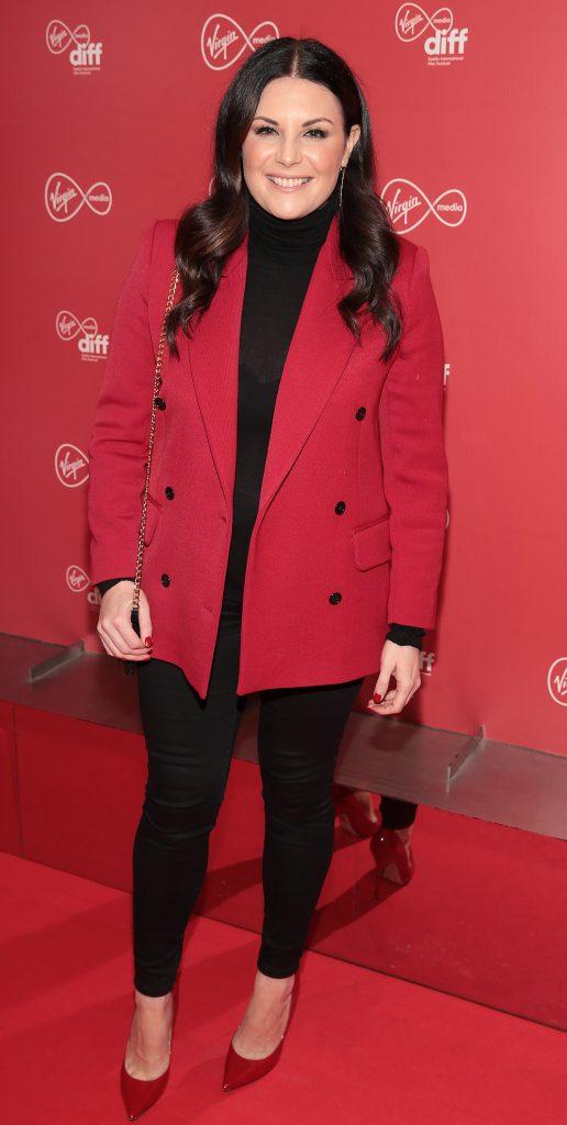 Lisa Cannon at the Virgin Media Dublin International Film Festival launch at The Lighthouse Cinema, Dublin. Photo: Brian McEvoy