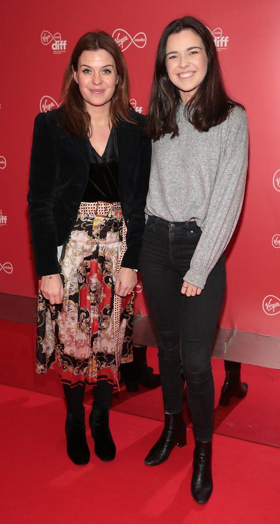 Niamh O Driscoll and Leisha O Sullivan at the Virgin Media Dublin International Film Festival launch at The Lighthouse Cinema, Dublin. Photo: Brian McEvoy