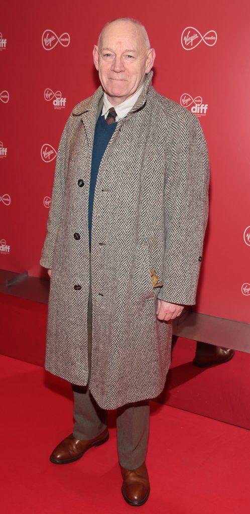 Mannix Flynn at the Virgin Media Dublin International Film Festival launch at The Lighthouse Cinema, Dublin. Photo: Brian McEvoy