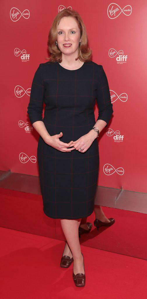 Sarah Sharkey at the Virgin Media Dublin International Film Festival launch at The Lighthouse Cinema, Dublin. Photo: Brian McEvoy