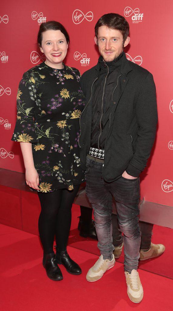 Therese Anglim and Darragh Bailey at the Virgin Media Dublin International Film Festival launch at The Lighthouse Cinema, Dublin. Photo: Brian McEvoy