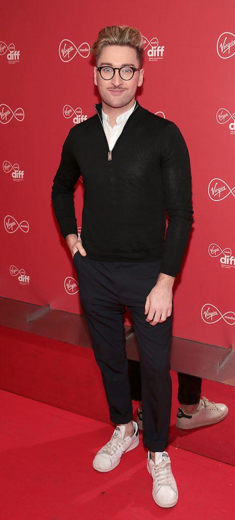 Rob Kenny at the Virgin Media Dublin International Film Festival launch at The Lighthouse Cinema, Dublin. Photo: Brian McEvoy