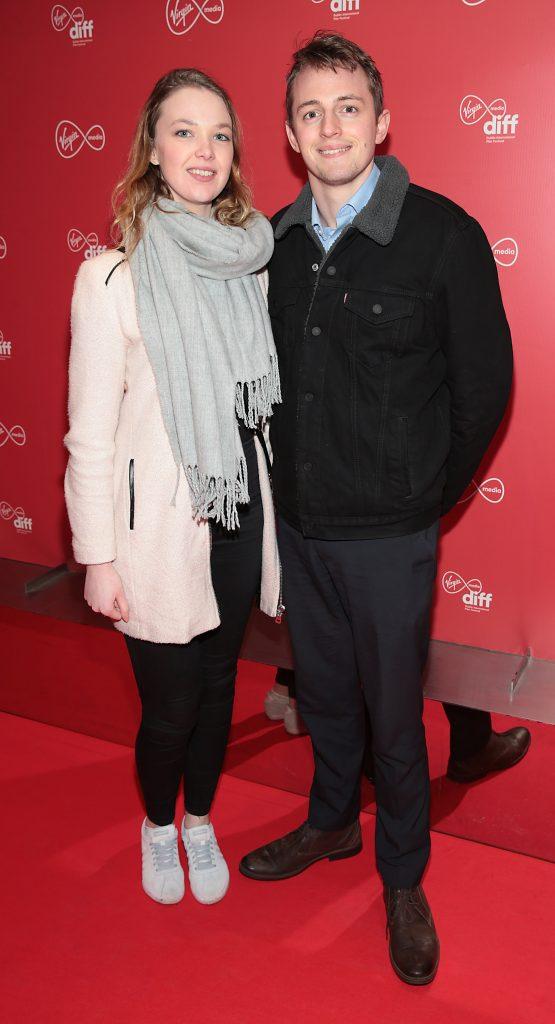 Louise Kirwan and Brendan Stebbing  at the Virgin Media Dublin International Film Festival launch at The Lighthouse Cinema, Dublin. Photo: Brian McEvoy