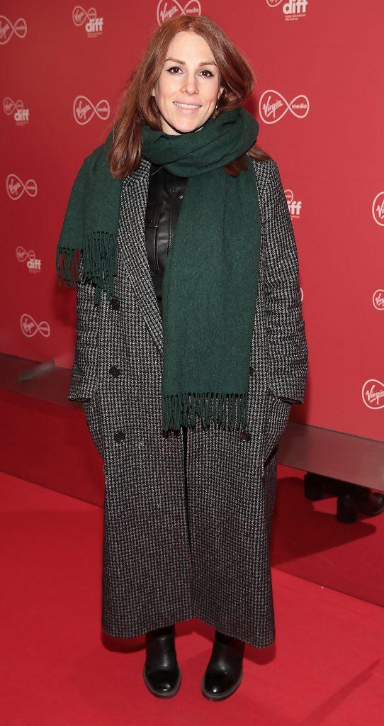 Sarah Byrne at the Virgin Media Dublin International Film Festival launch at The Lighthouse Cinema, Dublin. Photo: Brian McEvoy