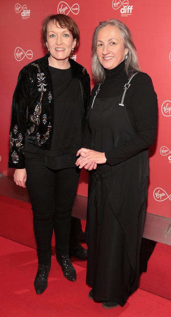 Aedin Gormley and Ellen Cranitch at the Virgin Media Dublin International Film Festival launch at The Lighthouse Cinema, Dublin. Photo: Brian McEvoy