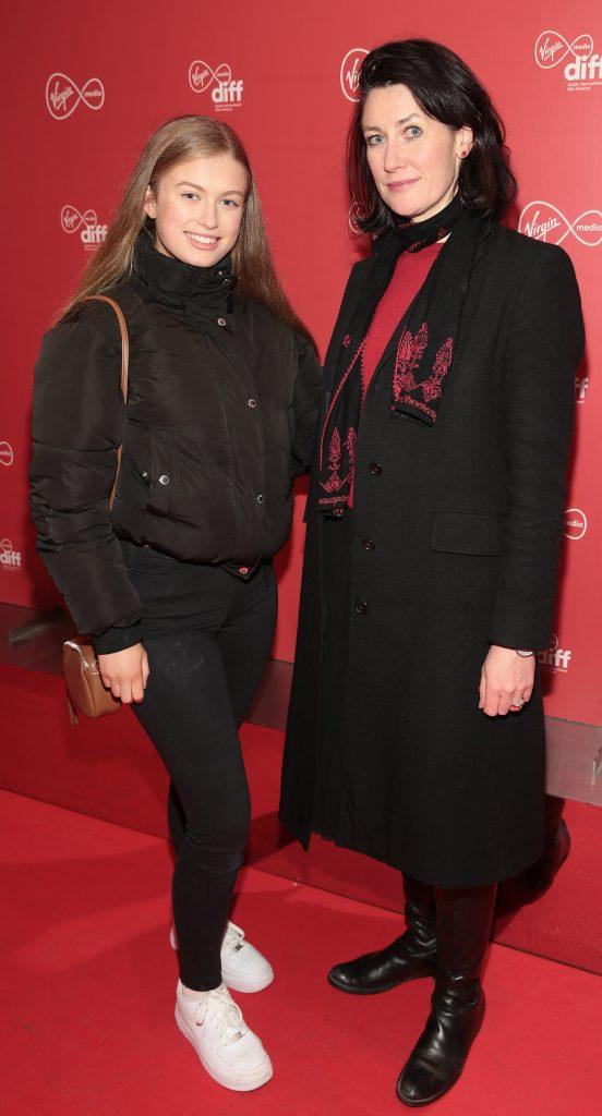 Sally Howard Ihle and Aideen Howard at the Virgin Media Dublin International Film Festival launch at The Lighthouse Cinema, Dublin. Photo: Brian McEvoy