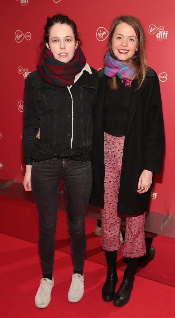 Sarah Moloney and Elaine Moloney at the Virgin Media Dublin International Film Festival launch at The Lighthouse Cinema, Dublin. Photo: Brian McEvoy