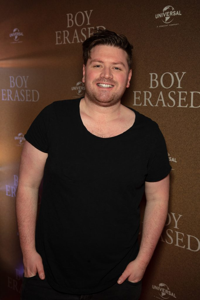 Crossy pictured at an exclusive preview screening of BOY ERASED at The Stella Theatre, Ranelagh. BOY ERASED, an emotional coming-of-age and coming out drama about a young man's journey to self-acceptance, stars Academy Award nominee Lucas Hedges alongside Academy Award winners Nicole Kidman and Russell Crowe. Guests were treated to a prosecco & canapé reception upon arrival and had the pleasure of seeing the film before it hits cinemas across Ireland on February 8th. Photo: Anthony Woods