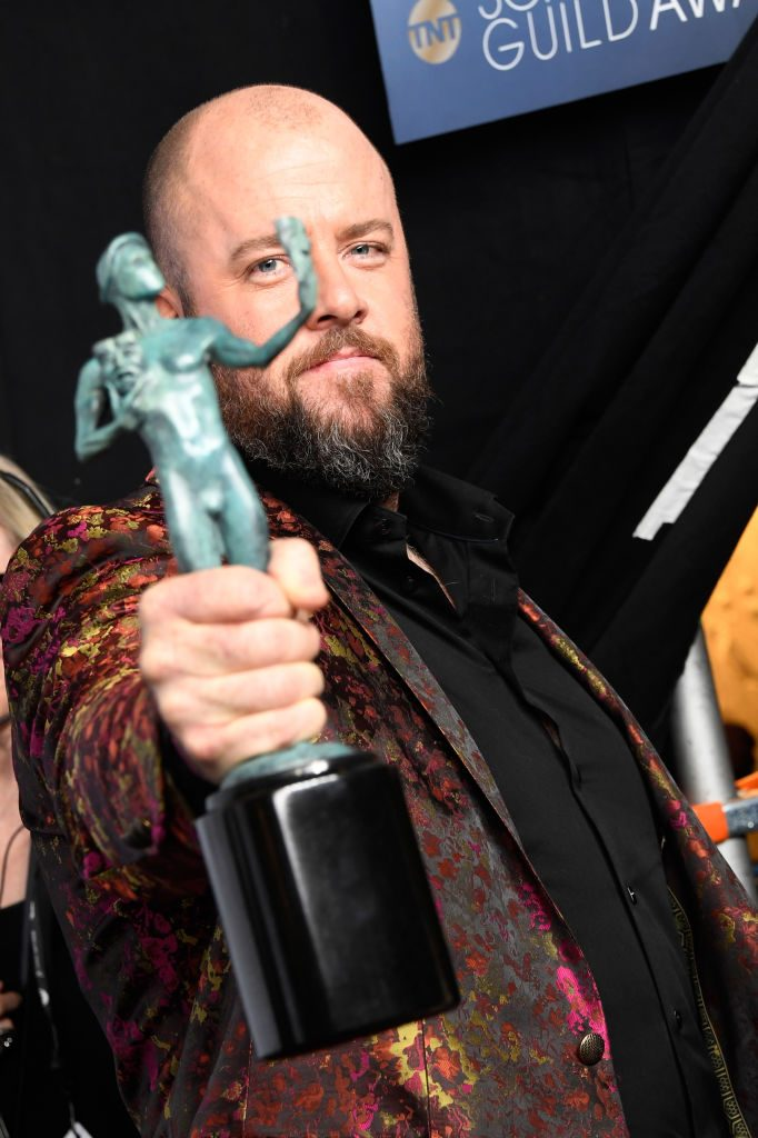 LOS ANGELES, CA - JANUARY 27:  Chris Sullivan, winner of Outstanding Performance by an Ensemble in a Drama Series for ''This Is Us,' poses in the press room during the 25th Annual Screen Actors Guild Awards at The Shrine Auditorium on January 27, 2019 in Los Angeles, California.  (Photo by Frazer Harrison/Getty Images)