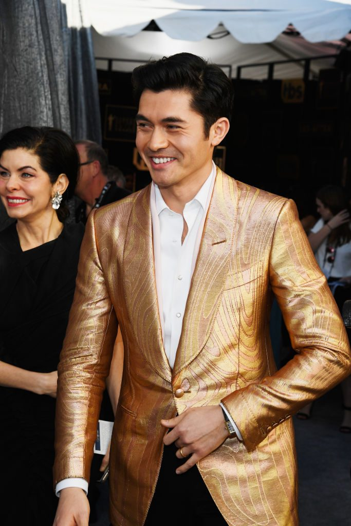LOS ANGELES, CA - JANUARY 27:  Henry Golding attends the 25th Annual Screen ActorsGuild Awards at The Shrine Auditorium on January 27, 2019 in Los Angeles, California.  (Photo by Kevork Djansezian/Getty Images)