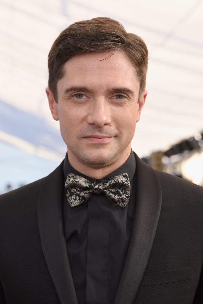 LOS ANGELES, CA - JANUARY 27:  Topher Grace attends the 25th Annual Screen ActorsGuild Awards at The Shrine Auditorium on January 27, 2019 in Los Angeles, California.  (Photo by Presley Ann/Getty Images)