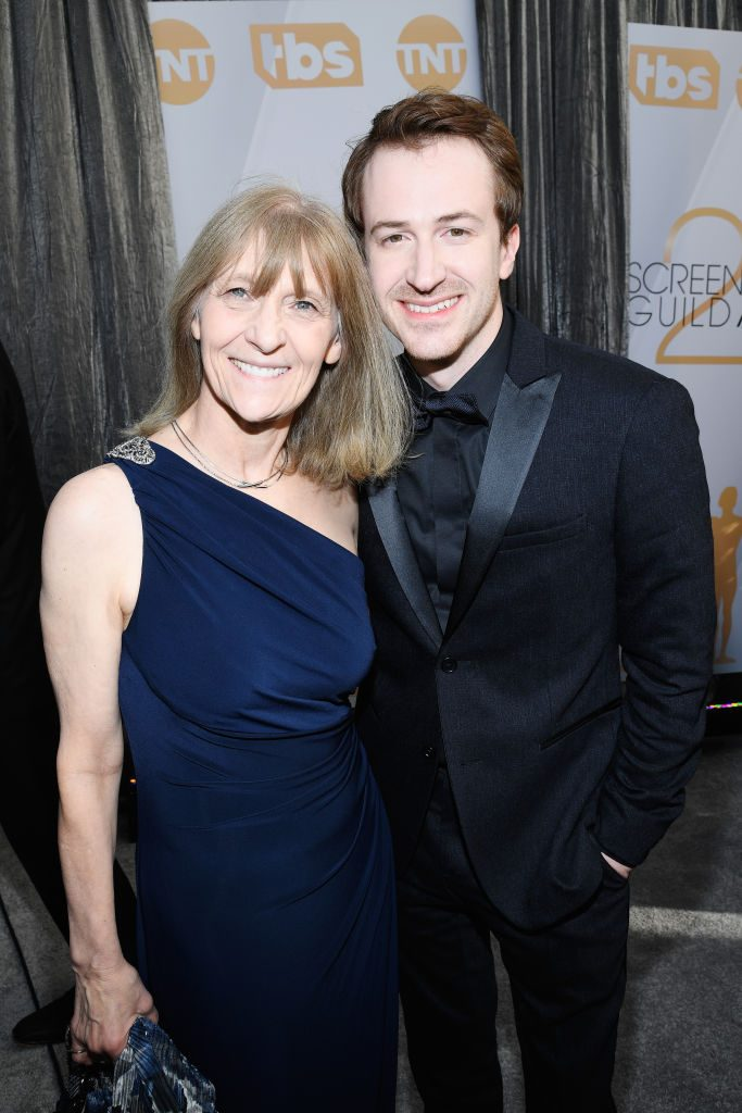 LOS ANGELES, CA - JANUARY 27:  Virginia Mazzello (L) and Joseph Mazzello attend the 25th Annual Screen ActorsGuild Awards at The Shrine Auditorium on January 27, 2019 in Los Angeles, California.  (Photo by Kevork Djansezian/Getty Images)