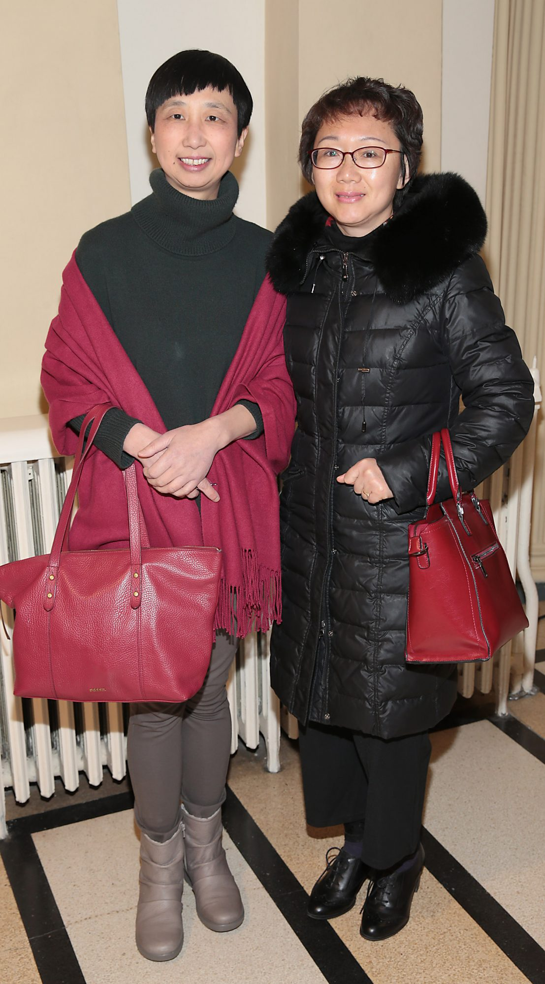 Jane Zuo and Zhang Xuan pictured at the official opening event of Dublin Chinese New Year Festival 2019 at The Hugh Lane Gallery sponsored by Kildare Village. Dublin Chinese New Year Festival runs until 17th February for more see www.dublinchinesenewyear.com   Pic Brian McEvoy