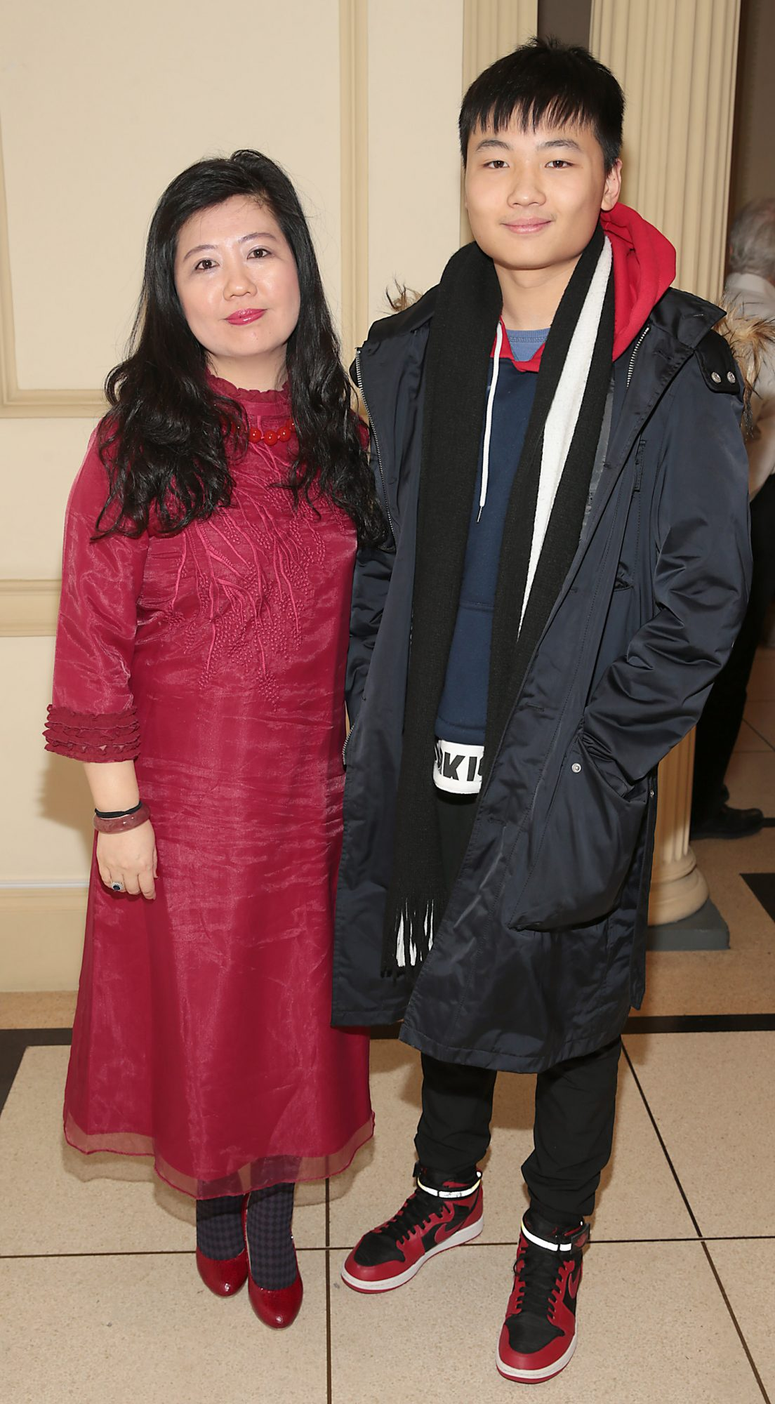 Penny Pu and Borris Pu pictured at the official opening event of Dublin Chinese New Year Festival 2019 at The Hugh Lane Gallery sponsored by Kildare Village. Dublin Chinese New Year Festival runs until 17th February for more see www.dublinchinesenewyear.com   Pic Brian McEvoy