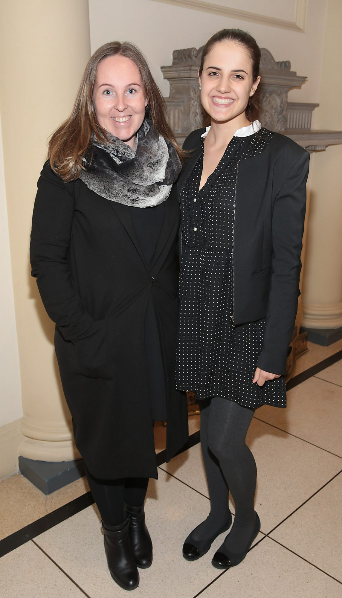 Jenny Armstrong and Michaela Hogan pictured at the official opening event of Dublin Chinese New Year Festival 2019 at The Hugh Lane Gallery sponsored by Kildare Village. Dublin Chinese New Year Festival runs until 17th February for more see www.dublinchinesenewyear.com   Pic Brian McEvoy