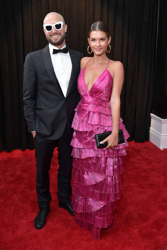 LOS ANGELES, CA - FEBRUARY 10:  Paul Fisher (L) and Chloe Chapman attend the 61st Annual GRAMMY Awards at Staples Center on February 10, 2019 in Los Angeles, California.  (Photo by Neilson Barnard/Getty Images for The Recording Academy)