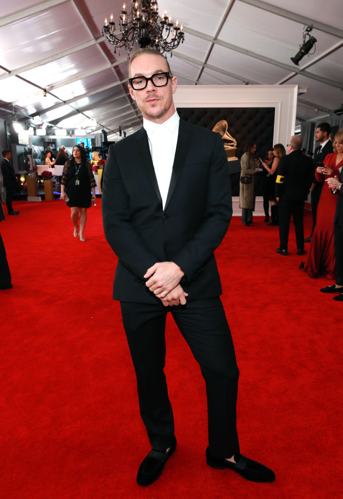 LOS ANGELES, CA - FEBRUARY 10:  Diplo attends the 61st Annual GRAMMY Awards at Staples Center on February 10, 2019 in Los Angeles, California.  (Photo by Rich Fury/Getty Images for The Recording Academy)
