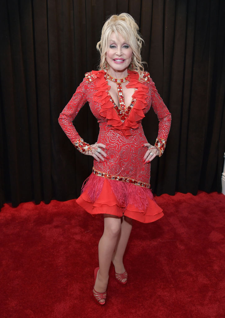 LOS ANGELES, CA - FEBRUARY 10:  Dolly Parton attends the 61st Annual GRAMMY Awards at Staples Center on February 10, 2019 in Los Angeles, California.  (Photo by Neilson Barnard/Getty Images for The Recording Academy)